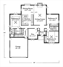 Square Foot House Plans Ranch Style Under Feet Home Design