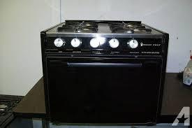 magic chef rv 4 burner gas stove oven