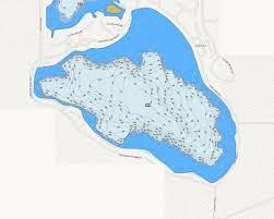 Barton Lake Depth Chart Gage Lake Fishing Map Us_in_00434916 Nautical Charts App