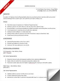 resume objective call center