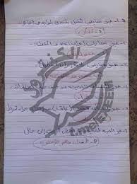 """تصحيح"""" نموذج حل امتحان العربي ثانوية عامة 2021 أدبي وعلمي """"بابل شيت"""" لغة  عربية - أخبارنا"""