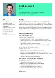 The most effective resume samples for catering sales managers emphasize sales orientation, being familiar with the catering industry, excellent communication and interpersonal skills, and negotiating abilities. Cook Resume Examples Writing Tips 2021 Free Guide Resume Io