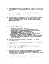 Employee Benefits Package Template - April.onthemarch.co