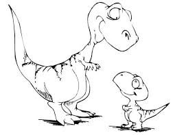Small Picture coloring pages draw a t rex t rex coloring pages clettk birthday