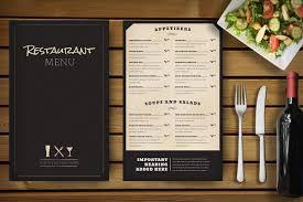 Menu Templates Design 30 Food Drink Menu Templates Design Shack Pictureicon