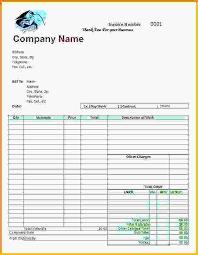 auto body repair invoice mechanic receipt template