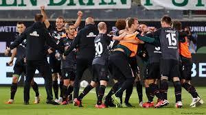 It is tough to say something. Relegation Playoff Werder Bremen Retain Bundesliga Status On Away Goals Sports German Football And Major International Sports News Dw 06 07 2020