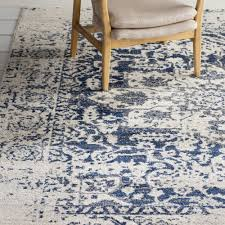 Decoration Navy And White Area Rug Luxury Blue Beige Rugs Ideas Of