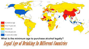 Hello Different Age Travel In Drinking - Buzz Of Countries Legal