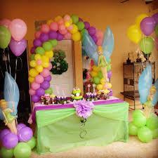 Fairy Birthday Party Decorations Tinkerbell Fairies Birthday Party Ideas Hair Garland