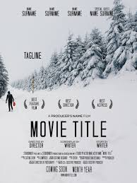 Downloadable Poster Templates How To Make A Movie Poster Free Movie Poster Credits Template