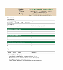 pto request template 40 effective time off request forms templates template lab