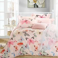 king size duvet sets. Luxury Butterfly Queen King Size Bedding Sets Pink Quilt Duvet Cover Sheets Bed In A Bag Bedspreads Bedsheets Linen Silk Tencel Bedlinens On