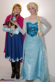 frozen sisters anna and elsa costume