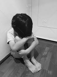 Sad crying child. Boy crying. Sad kid. Black and white photo. stock photo a2ec3da4-0476-4194-ae9f-a7bdd37f644e