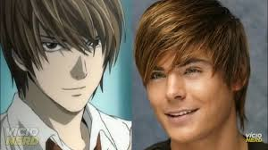 Zac Efron As Light Yagami