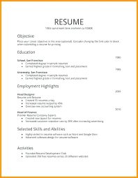 First Resume Sample First Job Resume Template Naomijorge Co