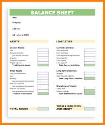 Accounting Balance Sheet Template 24 Balance Sheet Templet Time Table Chart 22