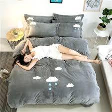 king size velvet quilt winter warm velvet quilt bedding set luxury crystal velvet queen king size