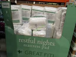 costco mattress cover. Exellent Costco Costco982282RestfulNightsMattressPadTwin XL In Costco Mattress Cover C