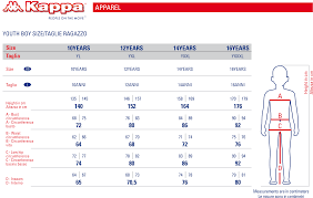Kappa Size Chart Kappa4ski 425 3l