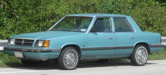 plymouth reliant k car for 1milioncars 1983 plymouth reliant the k car