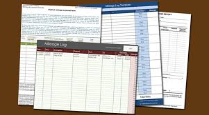 Mileage Expense Template 8 Mileage Log Templates To Keep Your Mileage On Track