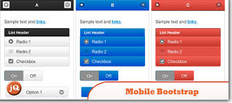 Top 10 Jquery Mobile Bootstraps And Templates Sitepoint