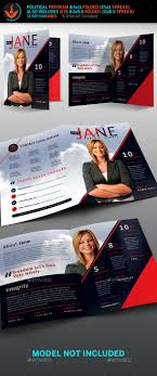 Jane Political Brochure Template 2 By Seraphimchris | Graphicriver
