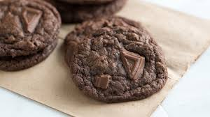 gooey double chocolate chip cookies. Delighful Gooey In Gooey Double Chocolate Chip Cookies O
