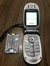 Motorola Model V557 GSM Flip Phone + 2 ...