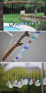 seaglass and pebbles wind chime diy wind chimes to liven up your home homemade