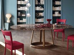 round marble table greeny round table by bonaldo