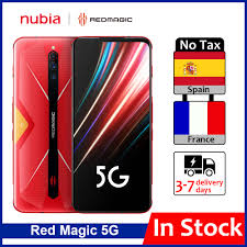 "<b>Global Version ZTE</b> Nubia Red Magic 5G Mobile Phone 6.65"" 8 ..."