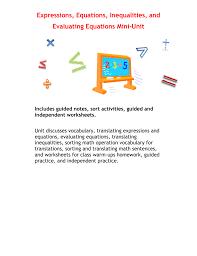math algebra tree map translating verbal phrases into advertisements worksheet translating expressions worksheet expressions equations