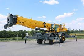 Grove Grt8100 Load Chart Manitowoc Company Inc Grt8100 Rough Terrain Cranes Heavy