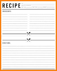 Microsoft Word Recipe Template Kezo Info