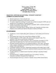 Occupational Therapy Resume Occupational Therapy Resume Example ...
