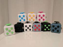 NEW Fidget Cube Anxiety Toy Spinner ...