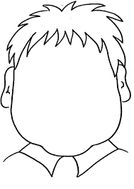 Fun Printable Coloring Page Blank Face Fun For Toddlers To Draw