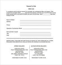 free printable bid proposal forms free bid proposal template pdf templates 23142 resume examples