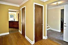 white interior doors with stained wood trim.  Doors Nice Design White Trim With Wood Doors  To Interior Stained S