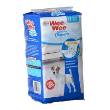 Wee Wee Diapers Size Chart Four Paws Wee Wee Diapers For Dogs