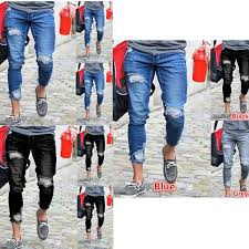 top feet elastic pants men s jeans feet men s clothing factory direct s slim foreign trade men s