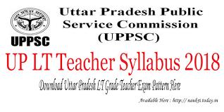 Download Up Lt Teacher Syllabus 2018 Lt Grade Teacher Exam Pattern