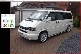 EBAY SCAM : 2003 VW T4 CAMPERVAN WHITE | YY03AJU - Fraud - YY03 ...
