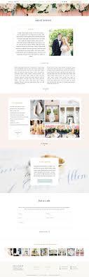 Showit 5 Designs Sofia Showit Website Template About Page Designs Website