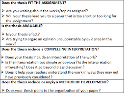 thesis statement developing a thesis for a literary essay  picture