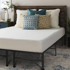 bed frame and mattress set. Full Size Memory Foam Mattress 8 Inch With Bed Frame Set - C And S