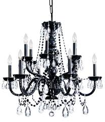 black chandelier lighting. ultimate black crystal chandelier lighting for your small home decoration ideas with
